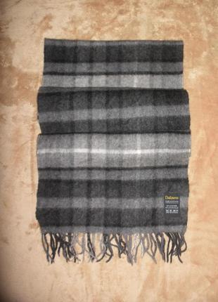 Уютный теплый мягкий кашемир шерсть шарф dalness в клетку