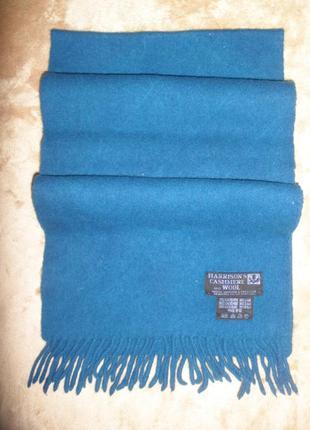 Теплый шарф harrisons на холодное время года