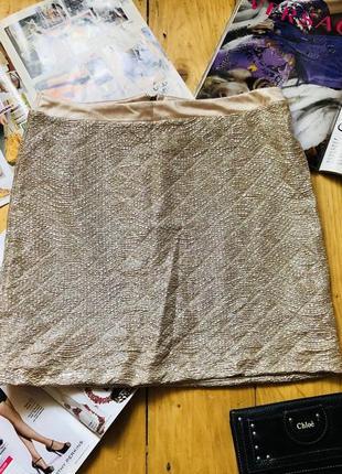 Нарядная юбка мини