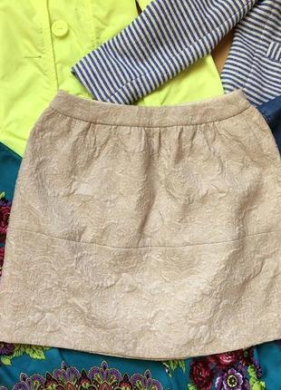 Нарядная фактурная юбка