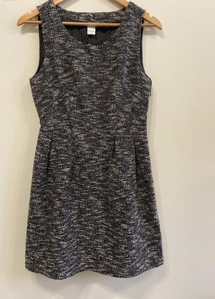 Платье с разрезом на спинке vila p.s #545. sale❗️❗️❗️black friday❗️❗️❗️