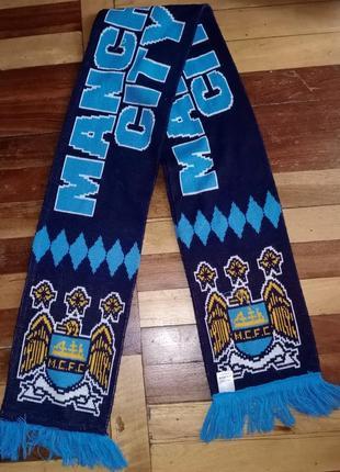 Футбольный шарф fc manchester city