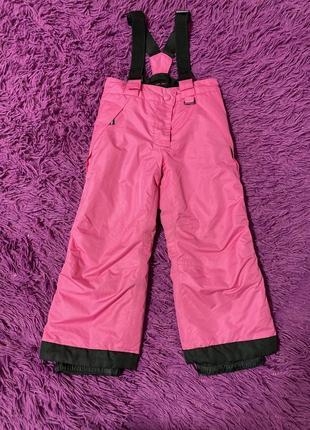 Лыжные штаны для девочки