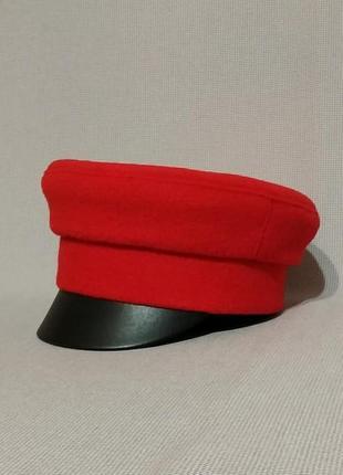 Тепла зимова кепка кепi картуз модные женские кепки, фуражки кепи кашкет шапка фуражка