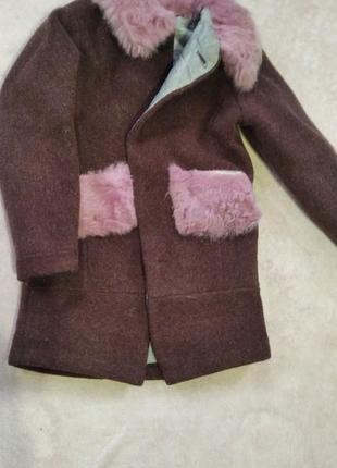 Пальто мама+дочка
