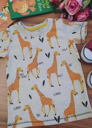 Классная хлопковая футболка st.bernard на 1,5-2 года.