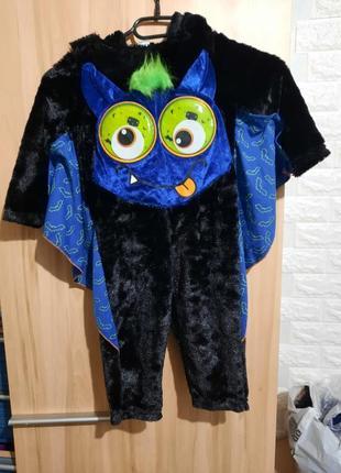Карнавальный костюм жучок, летучая мышь, монстрик