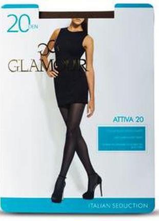 Итальянские колготки glamour 20den attiva20 italy