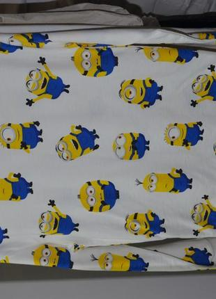 6-8/8-10 лет h&m фирменный новый свитшот кофта батник с принтом миньйоны посипаки minions7 фото