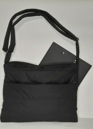 Планшет сумка на плечо под а4 дутик через плечо легкий карманы