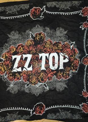 Катоновая стильная бандана платок.zz top.