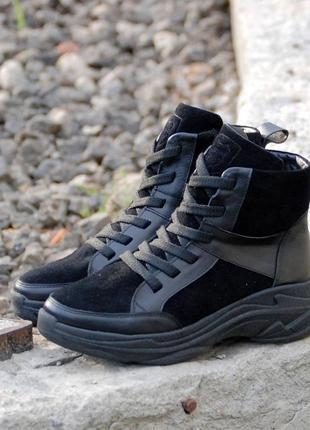 Зимние женские ботинки ( кроссовки ).