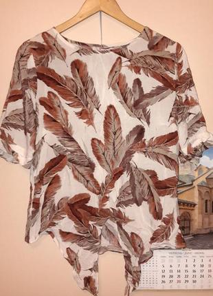 Крутейшая блуза в перья