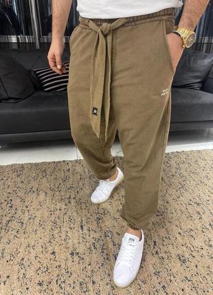 Спортивные штаны джогеры оверсайз