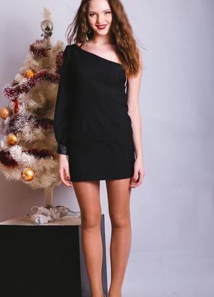 Платье на одно плеч0 asos. на новый год корпоратив