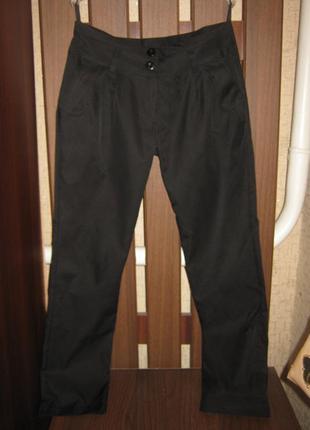 Черные брюки весна-осень/демисезонные