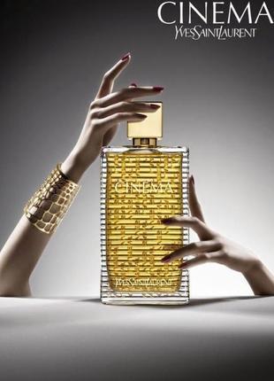 Читайте описание!парфюмированная вода yves saint laurent cinema, 3 мл