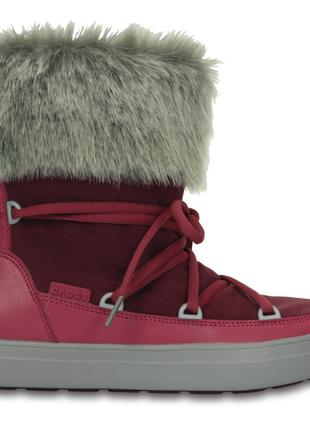 Crocs lodgepoint lace boot 8размер , новые, оригинал!!!