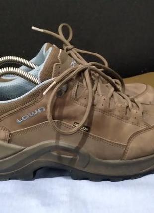 Оригинал кожаные кроссовки ботинки lowa renegade gtx lo gore-tex ecco