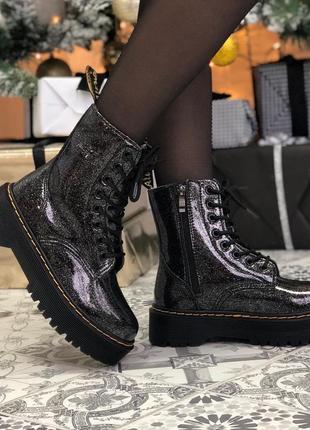 Шикарные женские зимние ботинки топ качество dr. martens 🥭❄️