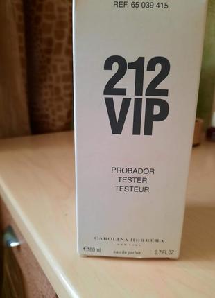 Carolina herrera 212 vip парфюмированная вода 80 ml