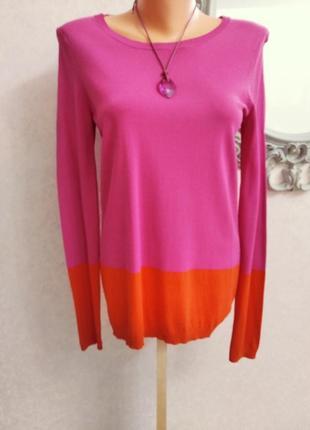 Яркий пуловер  свитер джемпер united colors of benetton!