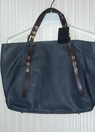 c2b8aa1f9ac2 Кожаная под рептилию100% итальянская сумка новая-распродажа! ZARA ...