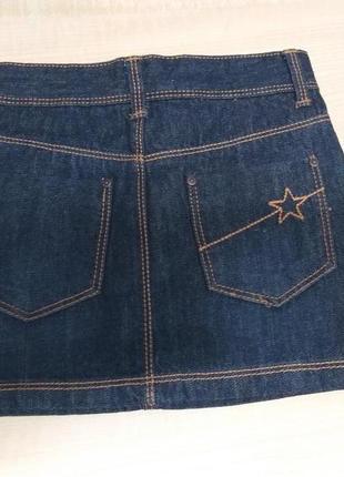 Юбка джинсовая рост 108-113