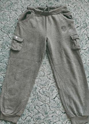 ☃️-21% до 21.01.21!!! тёплые штаны р.xxl