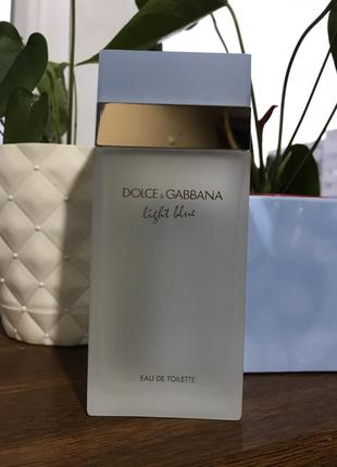 Dolce&gabbana light blue pour femme туалетная вода