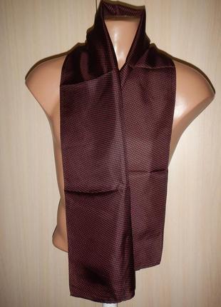 Шелковый шарф кашне 100% шелк