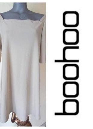 Платье пастельного цвета,с открытыми плечами,батал,тренд 2021 года
