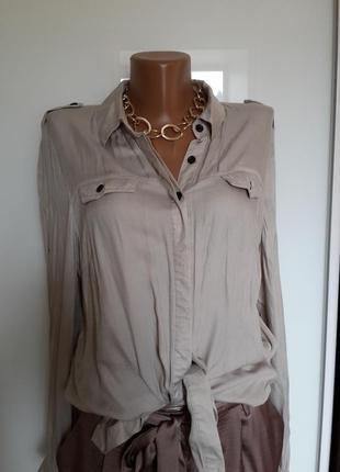 Легкая рубашечка из вискозы