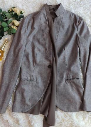 Блейзер пиджак из 100% кашемира и шелка от brunello cucinelli клетка италия