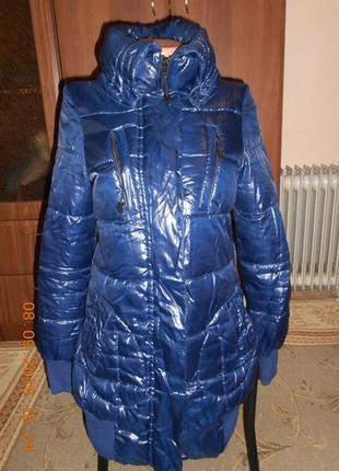 Курточка дутик пуховик на синтепоне с-м 40-42 размер