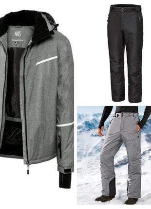 Мужской лыжный термо костюм. германия р 54-56 наш. утеплитель thinsulate