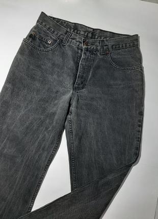 Базовые джинсы высокая посадка,  завышенная талия мом