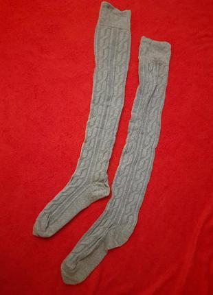 Серые гетры носки гольфы