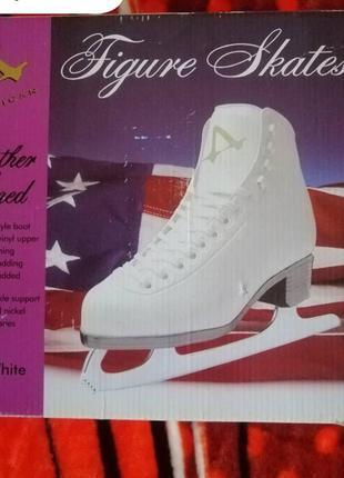 💯⛸️ оригинал. коньки для фигурного катания american athletic shoes.