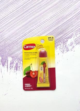 Бальзам carmex 💞 вишня в тубе