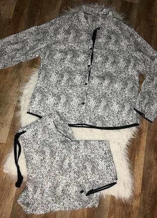 Пижама cyberjammies с брюками, домашняя одежда, рубашка с длинным рукавом