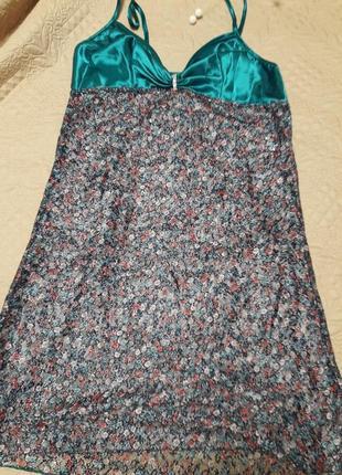 Нічний комплект сорочка та стрінги