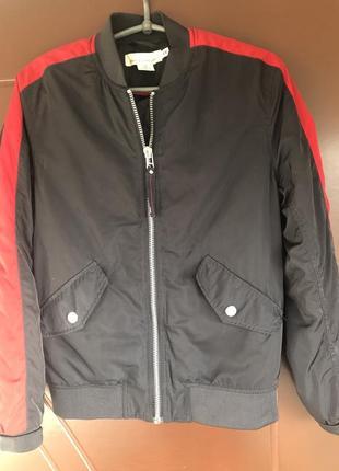 H&m куртка бомбер фирменная унисекс