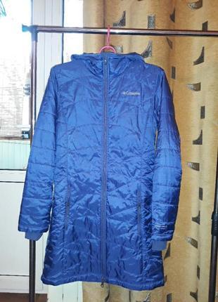 Куртка  длинная columbia.