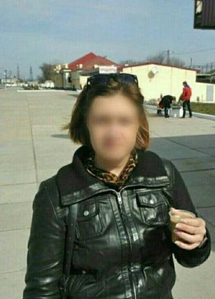Кожаная куртка,бомбер
