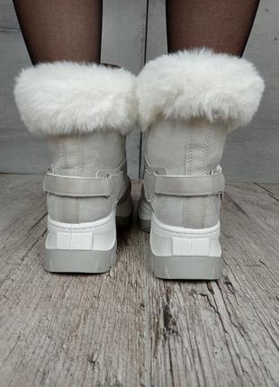 Ботинки зимние, код 1812-4, экозамша6 фото