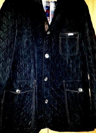 Куртка стеганная на подкладке, большой размер
