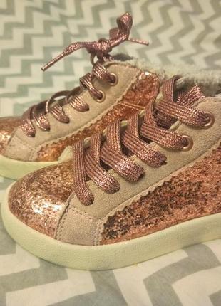 H&m хайтопы ботинки кеды утепленные