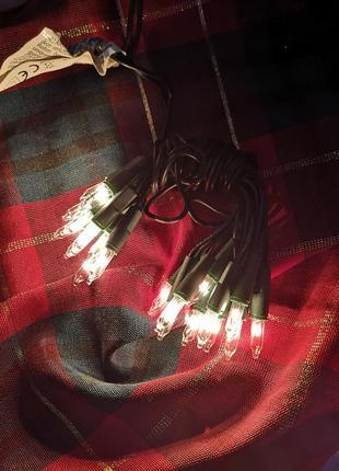 Гирлянда на 20 лампочек новогодняя