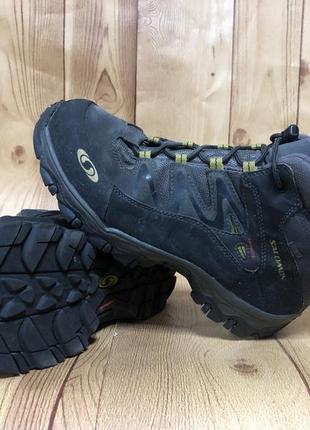 Треккинговые ботинки   salomon  37p.мембрана goretex.